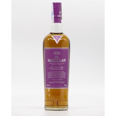 Whisky Macallan Edition Nº5