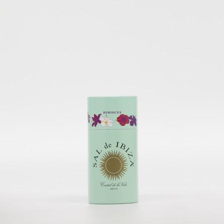 Salero Sal de Ibiza con Puntas de flor de Hibisco 125gr