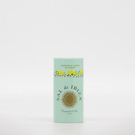Salero Sal de Ibiza con Pimienta y Limón