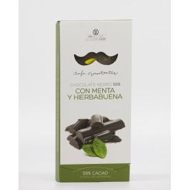 Chocolate Negro 56% con Menta y Hierbabuena Rafa Gorrotxategui