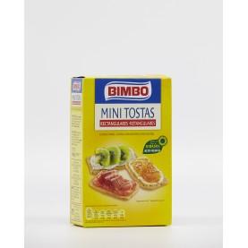 Mini Tostas Rectangulares Extra Finas Bimbo 100gr