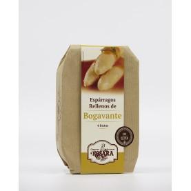 Espárragos Rellenos de Bogavante Rosara