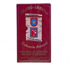 Anchoas Solano Arriola Lata 80 gr